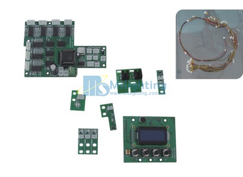 60WLED Moving Head Light PCB (PCB-07)